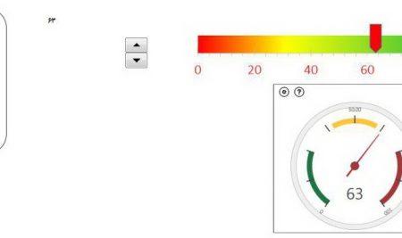 ساخت نمودار داینامیک به کمک spin button